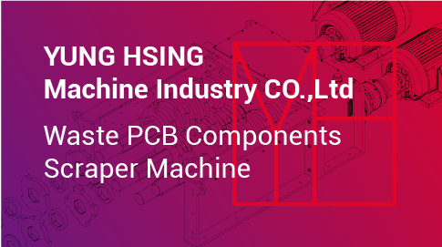 Waste PCB Components Scraper Machine